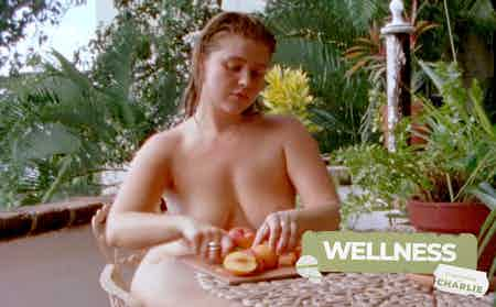 Lust Zine Wellness Series cooking naked with Charlie Max